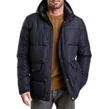 Buy Barbour Cromer Jacket, Navy Online at johnlewis.com