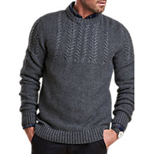 Buy Barbour Craster Crew Neck Jumper Online at johnlewis.com