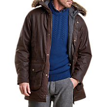 Buy Barbour Gisburne Jacket, Rustic Online at johnlewis.com