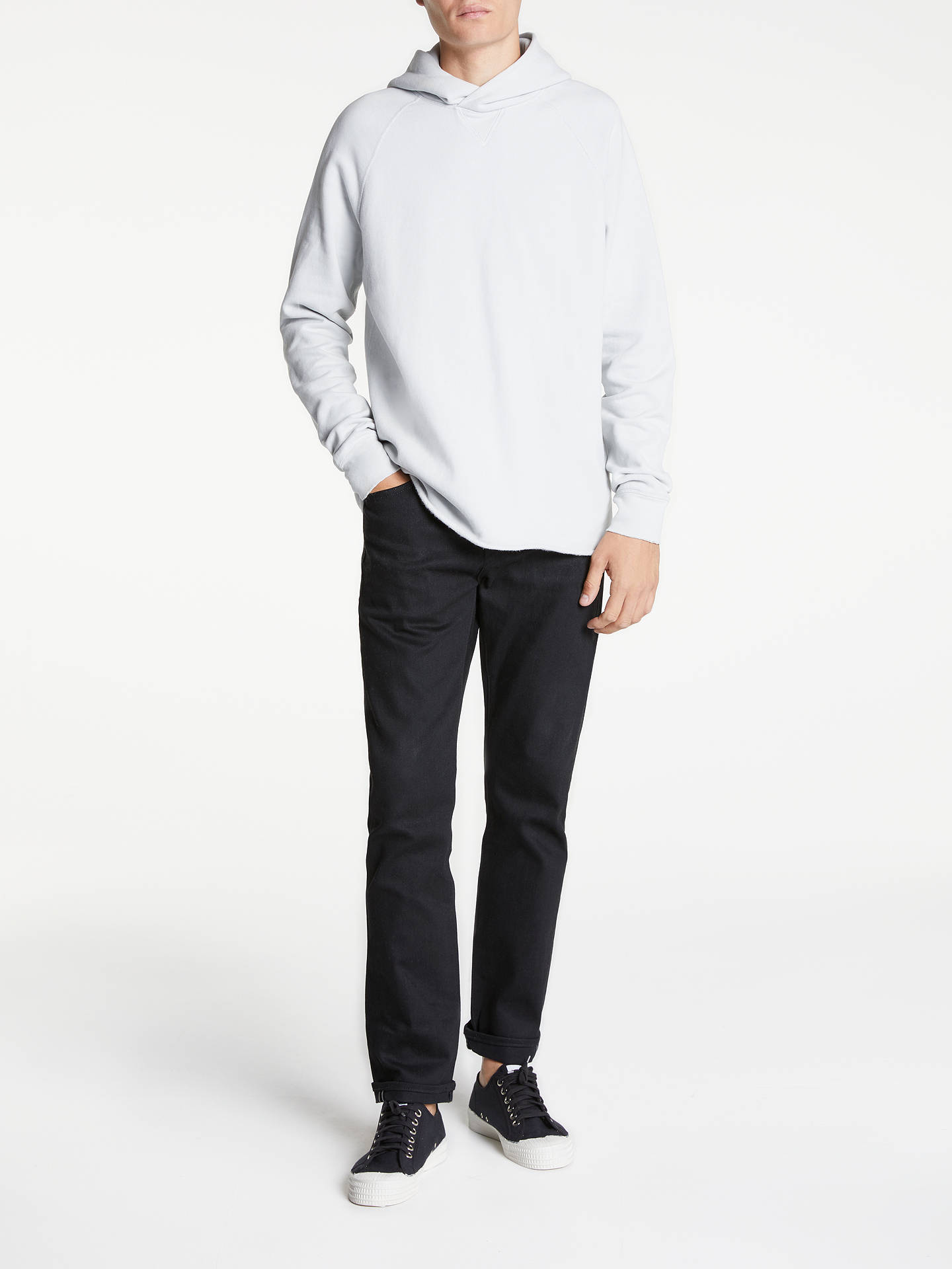 5bfeab6cb2 ... Buy Levi s Made   Crafted Unhemmed Hoodie Top