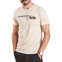 Buy Barbour Land Rover Defender Redpike T-Shirt, Pearl Online at johnlewis.com