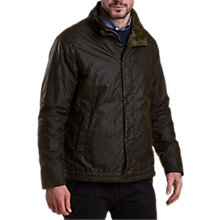 Buy Barbour Gillingham Defender Wax Jacket Online at johnlewis.com