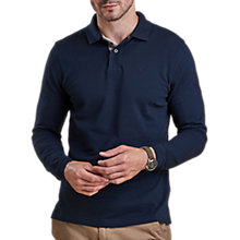Buy Barbour Long Sleeve Sports Polo Top Online at johnlewis.com