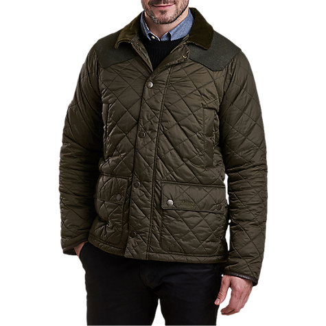 Buy Barbour Land Rover Defender Horstead Quilted Jacket, Olive ... : cheap barbour quilted jackets - Adamdwight.com