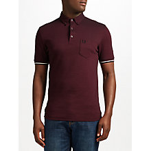 Buy Fred Perry Oxford Pique Polo Shirt Online at johnlewis.com