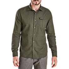 Buy Barbour Selside Long Sleeve Shirt, Forest Online at johnlewis.com