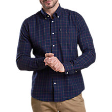 Buy Barbour Archie Shirt, Navy Online at johnlewis.com