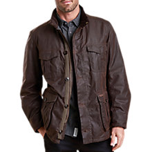 Buy Barbour Dunnon Jacket, Rustic Online at johnlewis.com