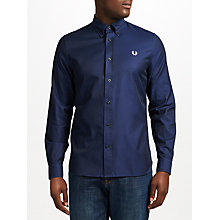 Buy Fred Perry Classic Oxford Shirt, Navy Online at johnlewis.com