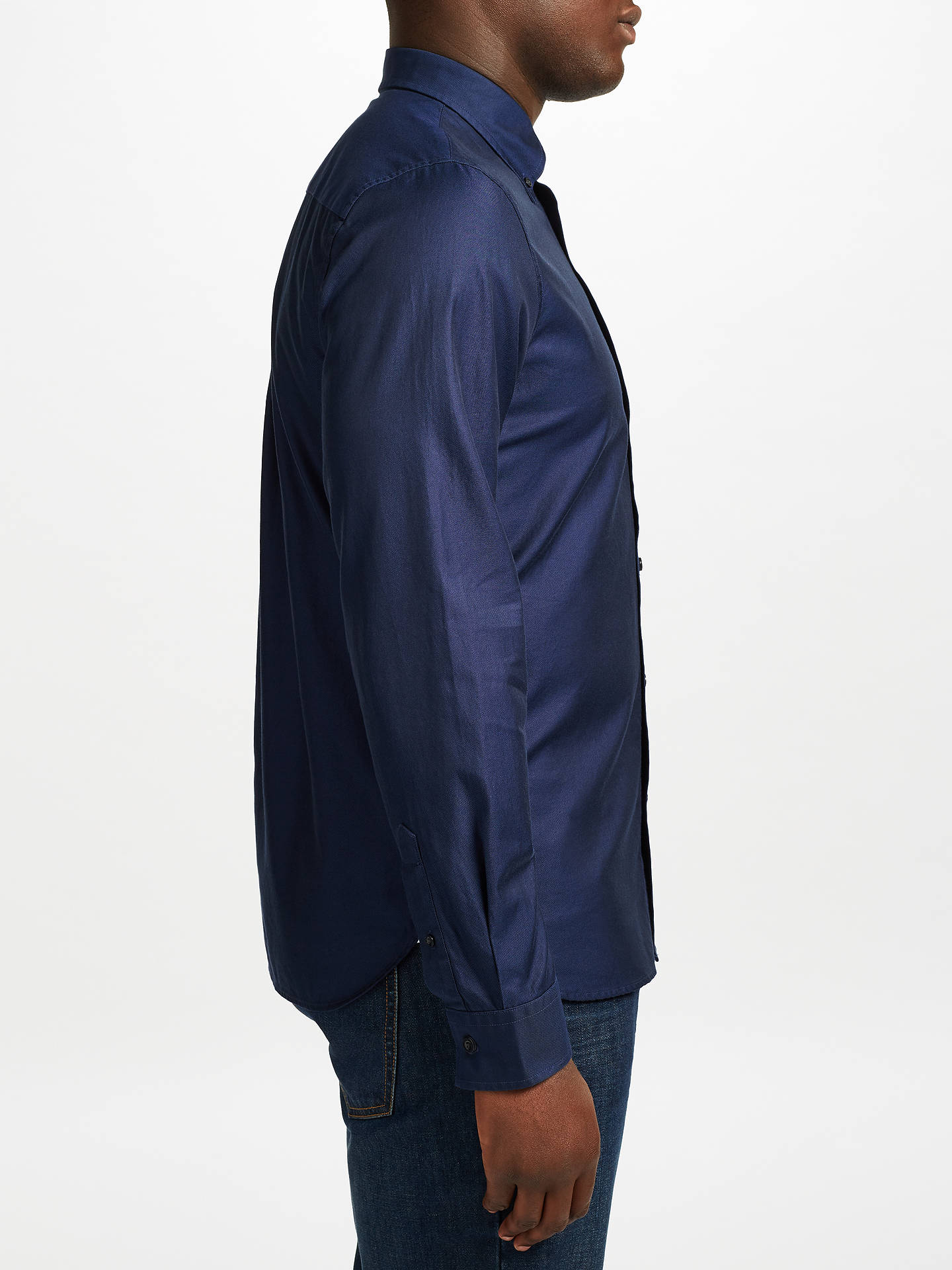 Fred Perry Classic Oxford Shirt, Navy at John Lewis & Partners