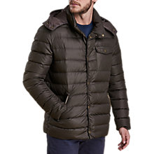 Buy Barbour Cowl Quilt Jacket, Olive Online at johnlewis.com