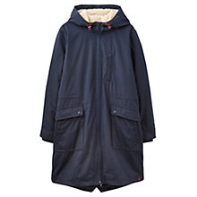 Buy Joules Right as Rain Stormont Waterproof Parka, Marine Navy Online at johnlewis.com
