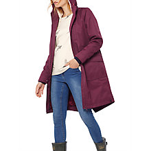 Buy Joules Right as Rain Stormont Waterproof Parka, Burgundy Online at johnlewis.com