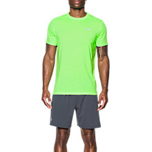 Buy Under Armour Threadborne Streaker Short Sleeve Running T-Shirt, Lime Online at johnlewis.com