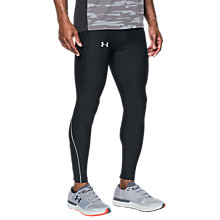 Buy Under Armour HeatGear Armour Running Tights, Black Online at johnlewis.com