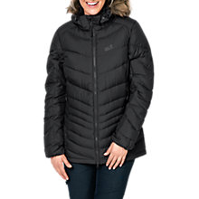 Buy Jack Wolfskin Selenium Bay Windproof Women's Jacket, Black Online at johnlewis.com