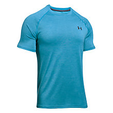 Buy Under Armour Tech Short Sleeve Training T-Shirt, Blue Online at johnlewis.com
