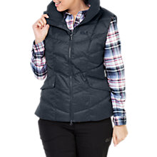 Buy Jack Wolfskin Baffin Bay Down Insulated Women's Gilet, Blue Online at johnlewis.com