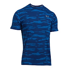 Buy Under Armour Threadborne Run Mesh Running Short, Blue Online at johnlewis.com