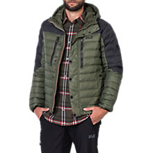 Buy Jack Wolfskin Richmond Men's Down Jacket, Green Online at johnlewis.com
