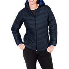 Buy Jack Wolfskin Helium Insulated Women's Jacket, Blue Online at johnlewis.com