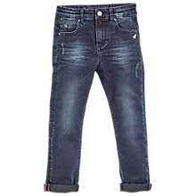 Buy Angel & Rocket Boys' Branded Basic Jeans, Blue Online at johnlewis.com