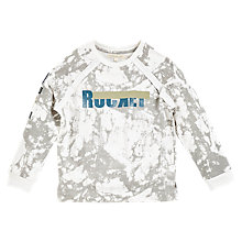 Buy Angel & Rocket Boys' Marble Wash Sweatshirt, Grey Online at johnlewis.com