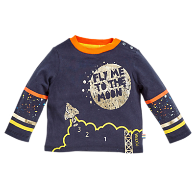 Angel & Rocket Baby Caleb Graphic T-Shirt, Multi