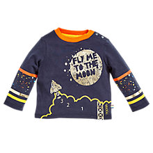 Buy Angel & Rocket Baby Caleb Graphic T-Shirt, Multi Online at johnlewis.com