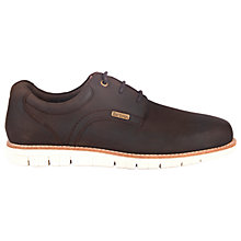 Buy Barbour Rae Leather Trainers, Truffle Online at johnlewis.com