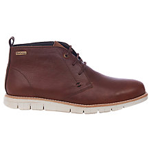 Buy Barbour Burghley Leather Chukka Boots Online at johnlewis.com