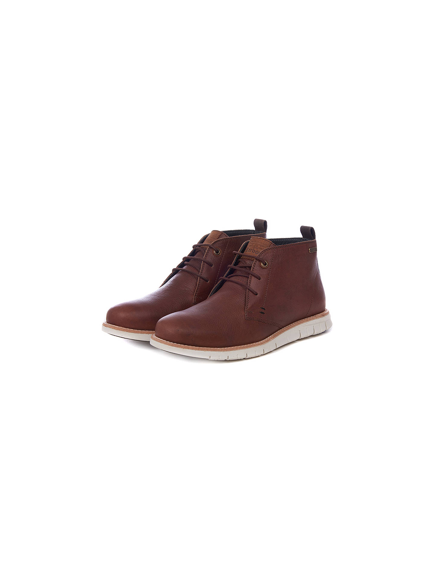 47e8e566e59 Barbour Burghley Leather Chukka Boots at John Lewis & Partners