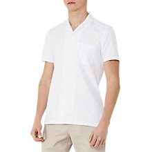 Buy Reiss Torino Cuban Collar Short Sleeve Shirt Online at johnlewis.com