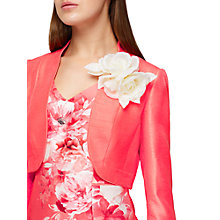 Buy Jacques Vert Coursage Trim Bolero, Bright Orange Online at johnlewis.com