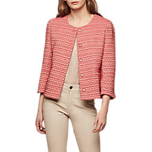 Buy Gerard Darel Verso Jacket, Dark Red Online at johnlewis.com