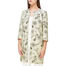 Buy Jacques Vert Jacquard Textured Jacket, Cream/Multi Online at johnlewis.com