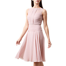Buy Hobbs Skylar Dress, Dusky Pink Online at johnlewis.com