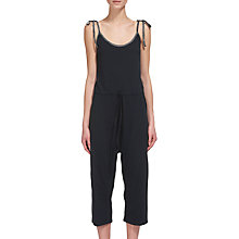 Buy Whistles Easy Lounge Jumpsuit, Navy Online at johnlewis.com