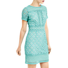 Buy Oasis Isla Lace Shift Dress Online at johnlewis.com