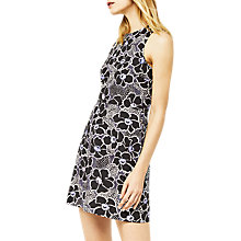 Buy Warehouse Woodblock Dress, Multi Online at johnlewis.com