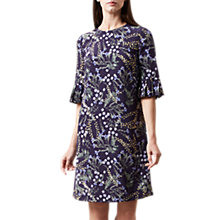 Buy Hobbs Tilda Dress, Navy/Multi Online at johnlewis.com