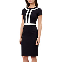 Buy Hobbs Winnie Dress, Navy Ivory Online at johnlewis.com