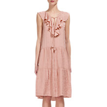 Buy Whistles Stephanie Jacquard Dress, Pale Pink Online at johnlewis.com