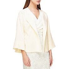 Buy Jacques Vert Cinched Waist Kimono Jacket, Ivory Online at johnlewis.com