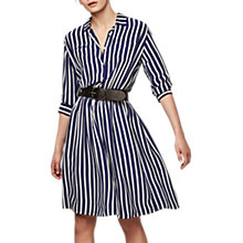 Buy Gerard Darel Stripe Dress, Blue Online at johnlewis.com