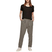 Buy Gerard Darel Prya Stripe Trousers, Black/Multi Online at johnlewis.com