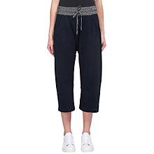Buy Whistles Easy Lounge Trousers, Navy Online at johnlewis.com