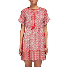 Buy Whistles Juana Alisha Print Dress, Pink/Multi Online at johnlewis.com