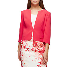 Buy Jacques Vert Pocket Detail Jacket, Mid Pink Online at johnlewis.com
