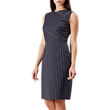 Buy Hobbs Paige Shift Dress, Navy/Ivory Online at johnlewis.com
